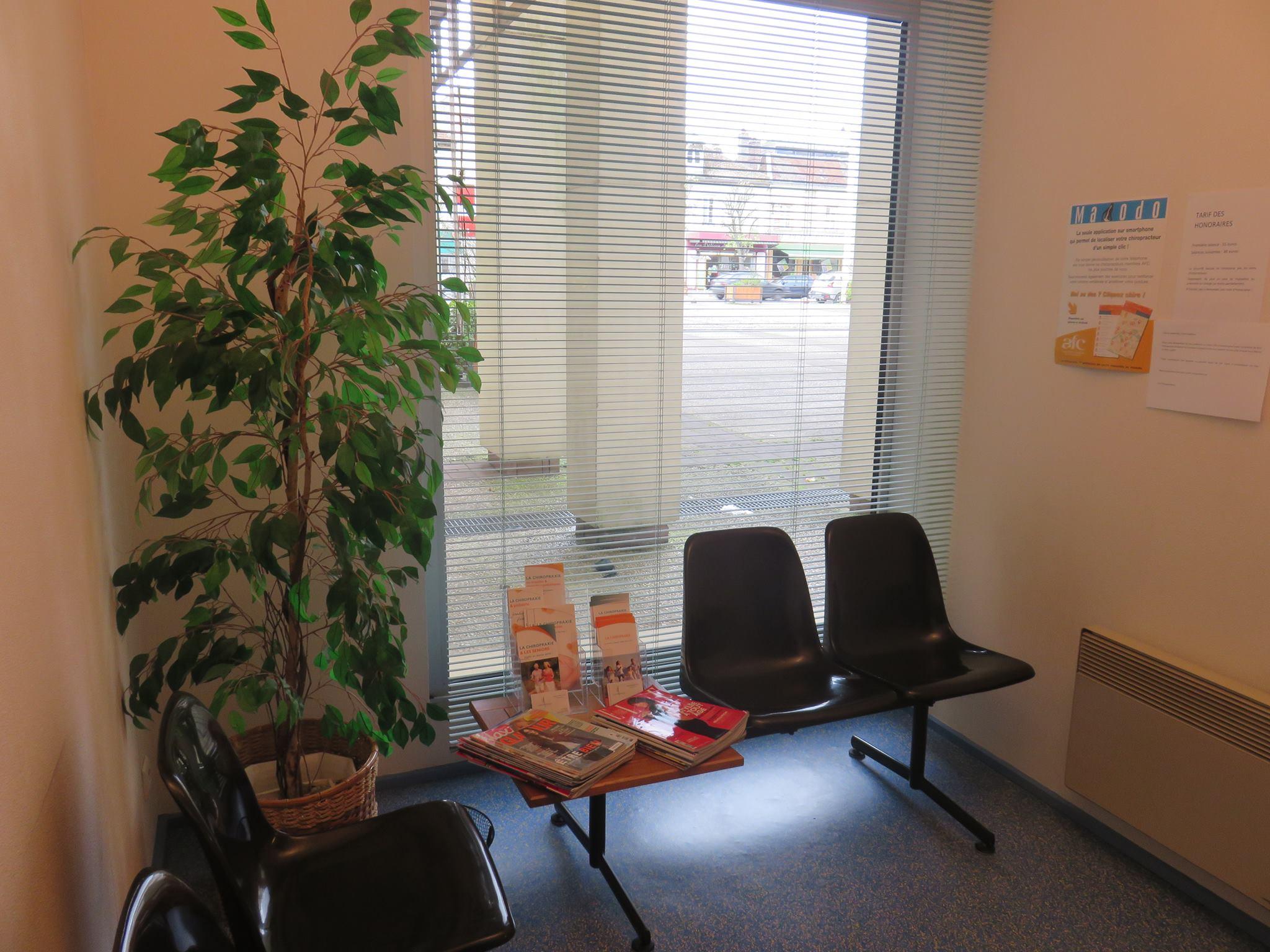salle attente chiropracteur